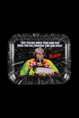 """RAW """"Time & Space"""" Rolling Tray"""