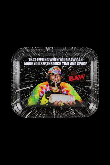 "RAW ""Time & Space"" Rolling Tray"