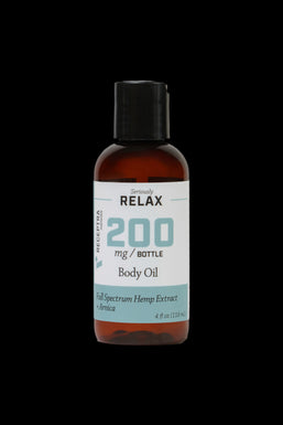 """Receptra Naturals """"Relax"""" Body Oil with Hemp Extract and Arnica"""