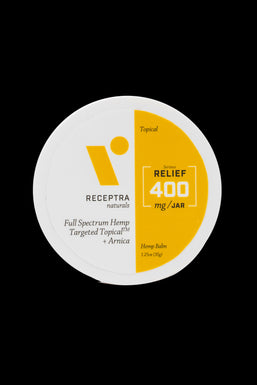"""Receptra Naturals """"Relief"""" Targeted Topical Hemp and Arnica Balm"""