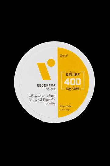 "Receptra Naturals ""Relief"" Targeted Topical Hemp and Arnica Balm - Receptra Naturals ""Relief"" Targeted Topical Hemp and Arnica Balm"