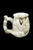 Green - Roast & Toast Premium Marbled Ceramic Pipe Mug