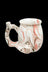 Pink - Roast & Toast Premium Marbled Ceramic Pipe Mug