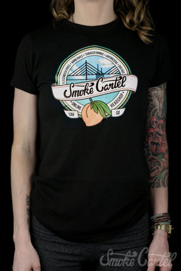 Smoke Cartel Badge American Apparel Small Women's Tee