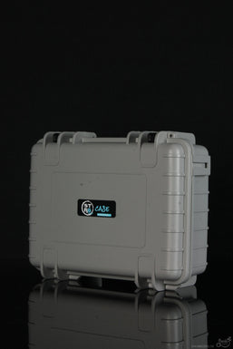 """STR8 Case 10"""" Hard Top Storage Case with 2 Layer Protective Foam and Carrying Handle"""