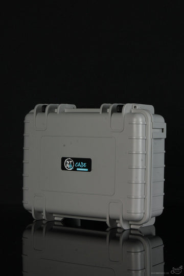 "Featured View - Grey - STR8 Case 10"" Hard Top Storage Case with 2 Layer Protective Foam and Carrying Handle"