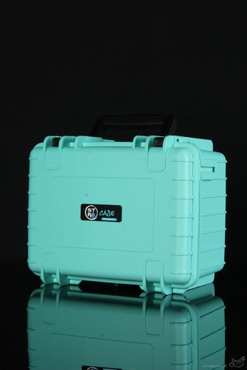 "Featured View - Teal - STR8 Case 10"" Hard Top Storage Case with 3 Layer Protective Foam"