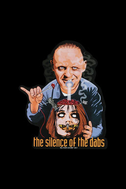 Silence of the Dabs Sticker