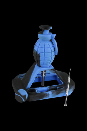 "Silicone ""Dab Grenade"" Vapor Straw Collector Kit"