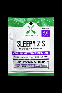 Green Roads Sleepy Z's CBD Gummies - 10 Pack