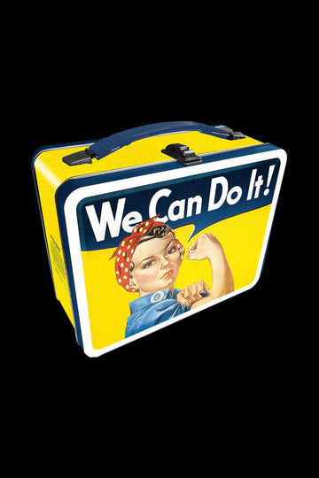 Smithsonian Rosie Riveter Metal Lunch Box