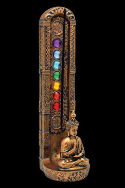 Standing Buddha Incense Burner