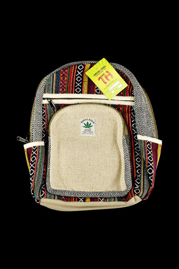 ThreadHeads Himalayan Hemp Woven Mini Backpack