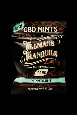 Tillman's Tranquils CBD Mints - 12 Pack