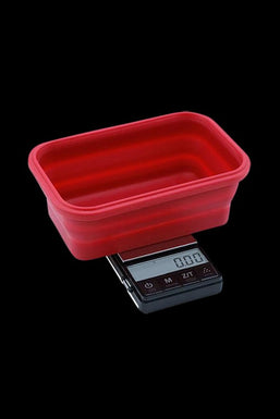 Truweigh Crimson Collapsible Bowl Scale - 200g x 0.01g