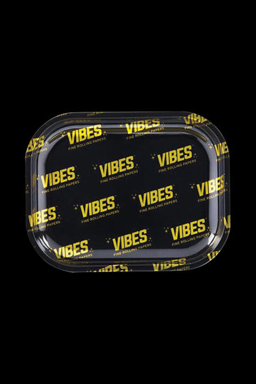 Small - VIBES Allover Logo Metal Rolling Tray