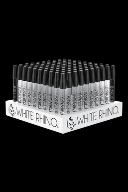 White Rhino Dab Straw Collector with Silicone Cap