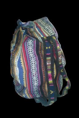 Zip-Up Compact Backpack
