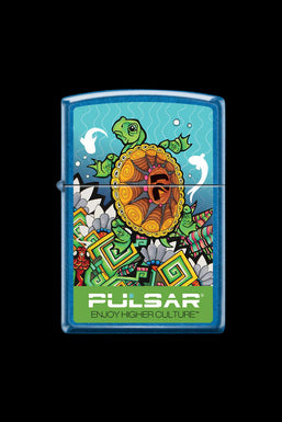 "Zippo ""Pulsar Psychedelic Turtle"" Lighter"