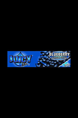 Juicy Jay's Blueberry Rolling Papers - 1 - 5 or 24 Pack