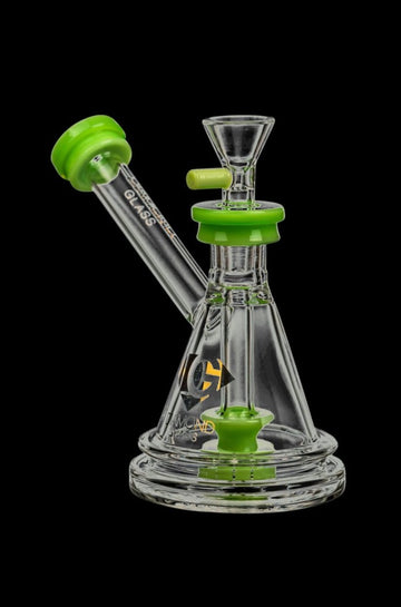 Diamond Glass Gavel Hammer Bubbler Slyme Green - Diamond Glass Gavel Hammer Bubbler