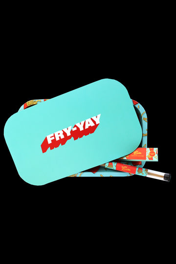 "Ugly House ""Fry-Yay"" Rolling Tray Bundle - Ugly House ""Fry-Yay"" Rolling Tray Bundle"