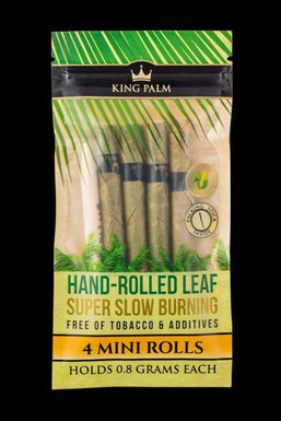 King Palm Resealable 4 Pack Mini Size Pre-Rolls