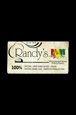 Randy's Roots Natural Hemp 1 ¼  Rolling Papers