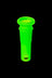 "18mm to 14mm Silicone Downstem 1"" Green - Unbreakable Silicone Downstem"