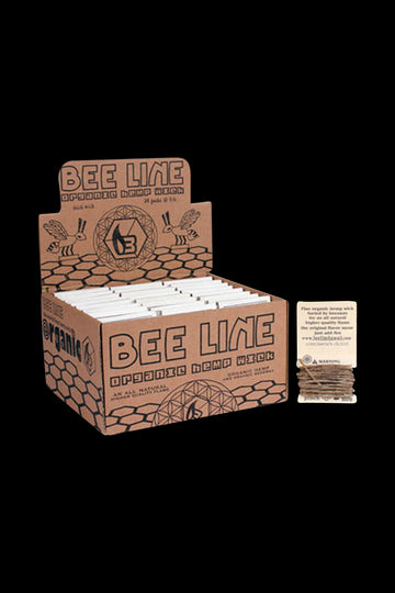 Bee Line Organic Hemp Wick - Bulk Display