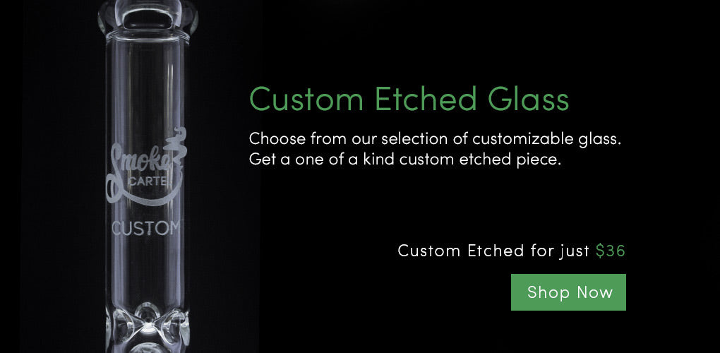 Custom Glass Water Pipes