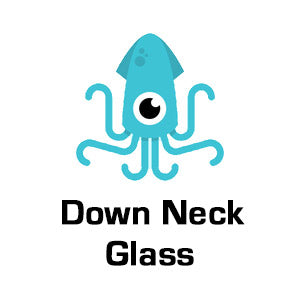 Down Neck Glass