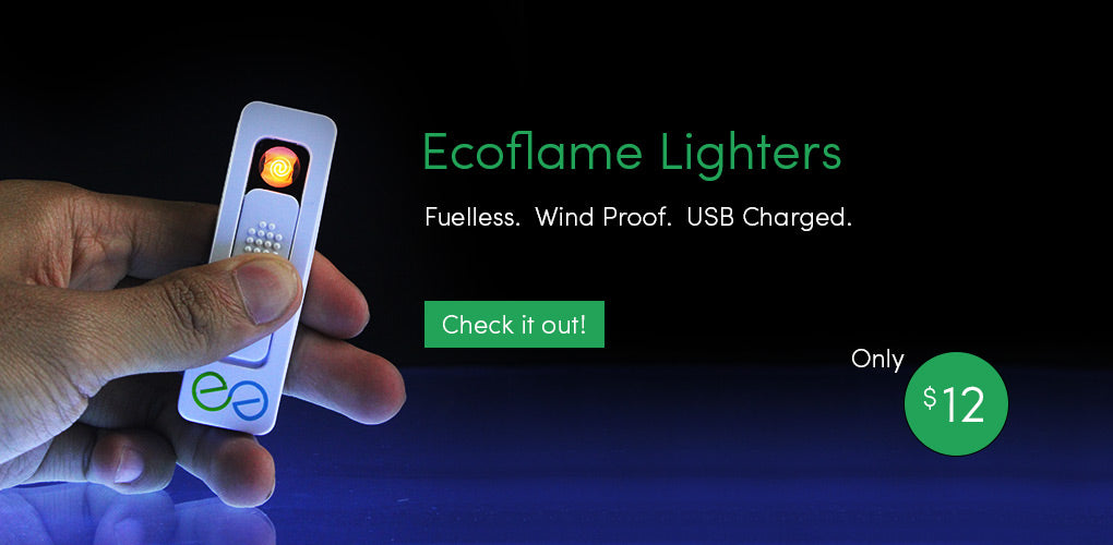 EcoFlame Lighters - Flameless and USB Rechargable