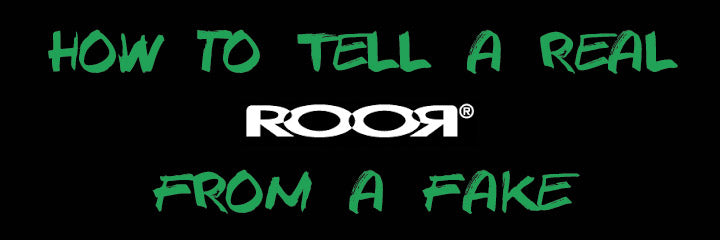 Identifiying a real ROOR vs a fake ROOR:  how to tell if your RooR is real