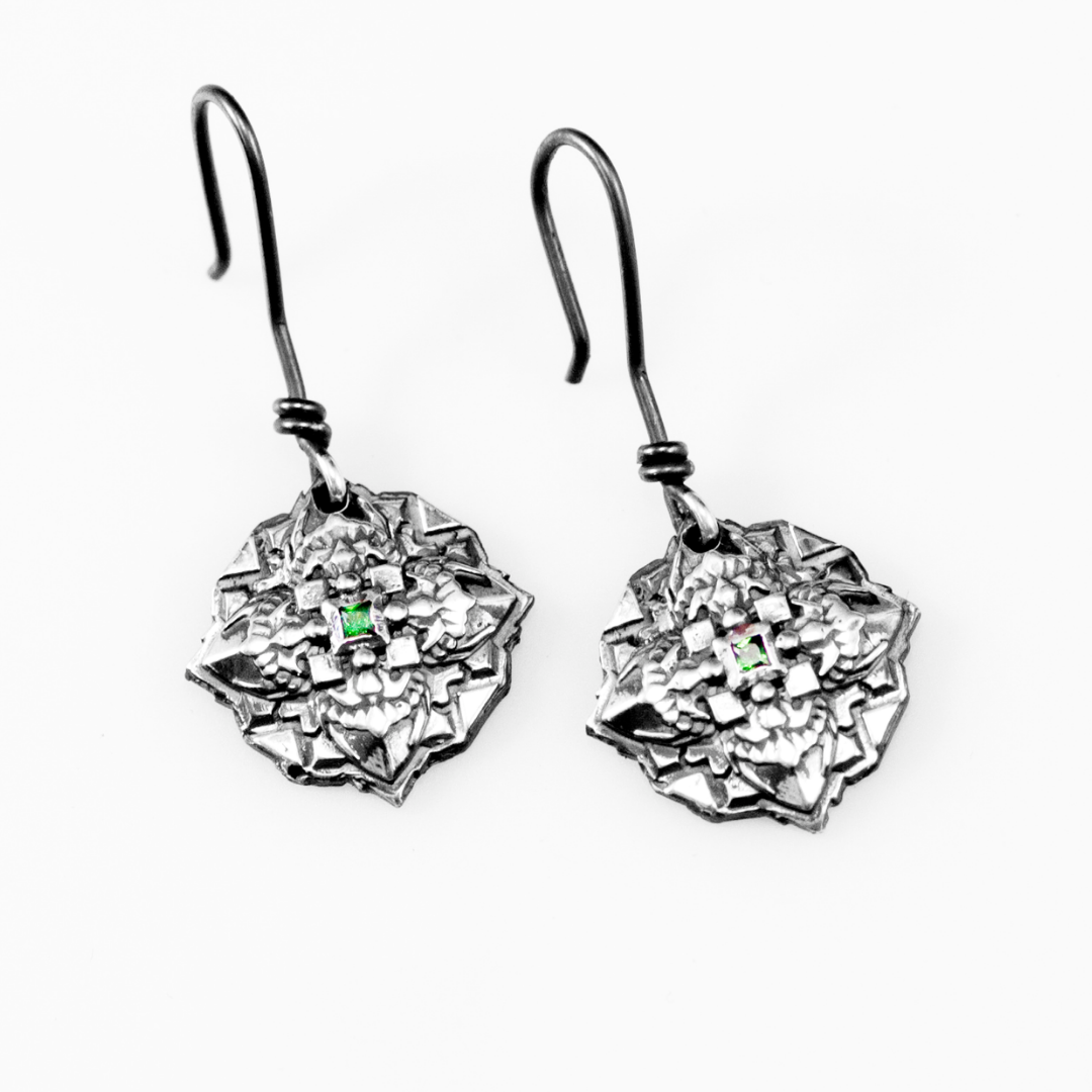 Atitlan Mandala Earrings