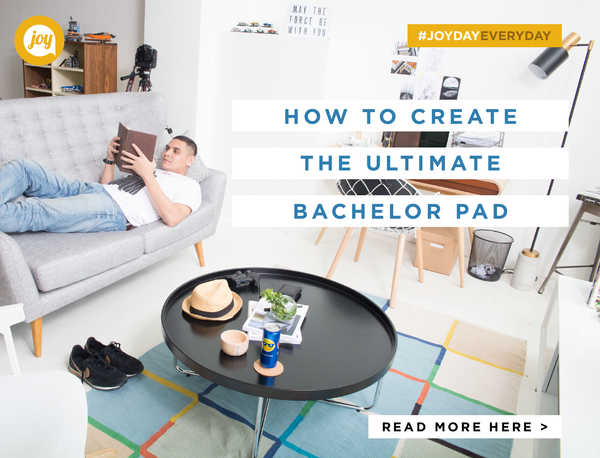 How to decorate your ultimate bachelor pad