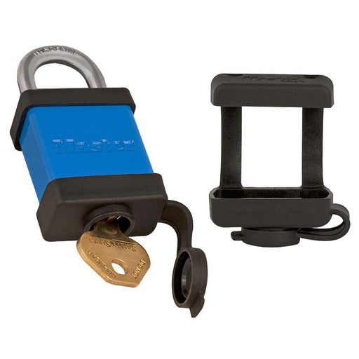 Master Lock S101 Extreme Environment Covers for American Lock No. 1100 and Master Lock No. 6835 Safety Padlocks, Bag of 12-Other Security Device-LockPeople.com
