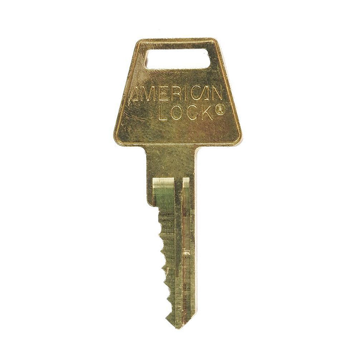 American Lock AK6 Duplicate Cut Key for APTC14 Cylinders