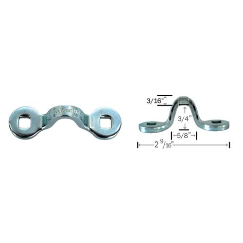 "Hodge Products Inc 200009 3/16"" Stainless Steel Pad Eye Loop"