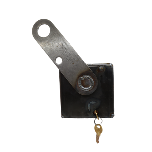 Hodge Products 100400W Automatic Cam-Lock Lid-Lok®-LockPeople.com