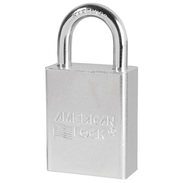 American Lock A5100 Solid Steel Rekeyable Padlock 1-1/2in (38mm) Wide-Keyed-LockPeople.com