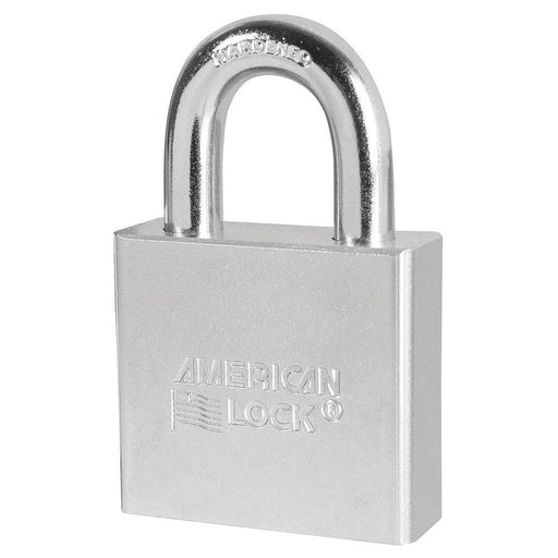 American Lock A5260 Solid Steel Rekeyable Padlock 2in (51mm) Wide-Keyed-LockPeople.com