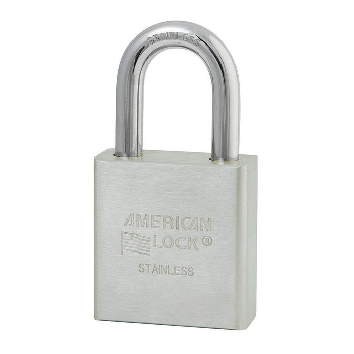 American Lock A5400 Solid Stainless Steel Padlock 1-3/4in (44mm) Wide