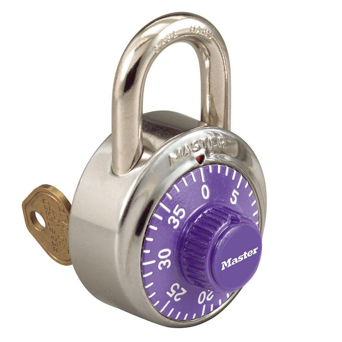 Master Lock 1525EZRC 1-7/8in (48mm) Simple Combos™ ADA Inspired Combination Padlock-LockPeople.com