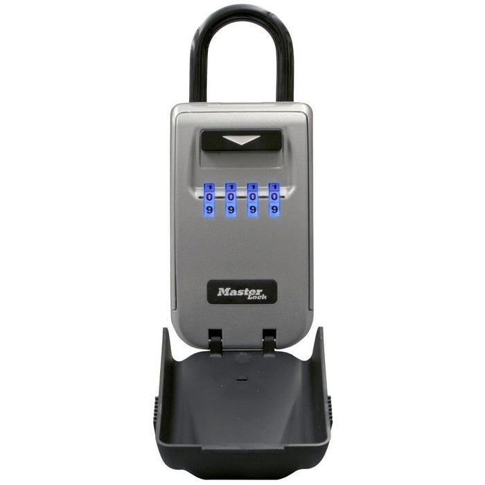 Master Lock 5424D Set Your Own Combination Light Up Dial Portable Lock Box 2-7/8in (72mm) Wide