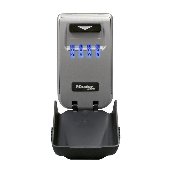 Master Lock 5425D Set Your Own Combination Light Up Dial Wall Mount Lock Box 2-7/8in (72mm) Wide-Combination-LockPeople.com
