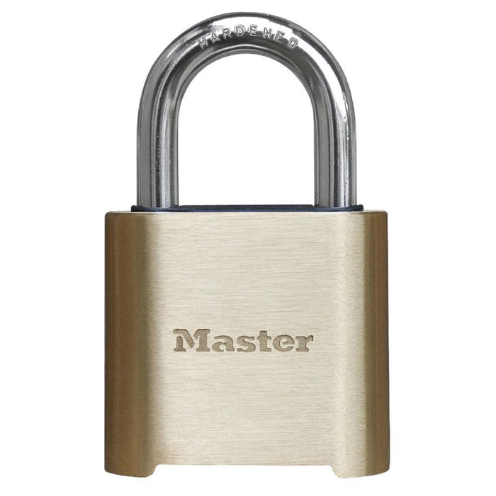 Master Lock 975 Resettable Combination Brass Padlock 2in (51mm) Wide