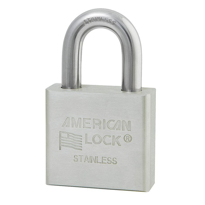 American Lock A6460 Solid Stainless Steel 6-Padlock 2in (51mm) Wide