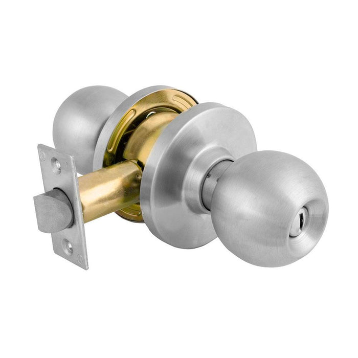 Master Lock BLC0332D Privacy Cylindrical Ball Knob, Commercial Grade 2-Not Keyed-LockPeople.com