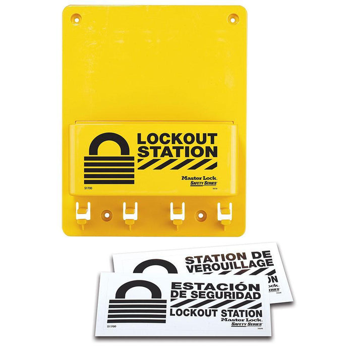 Master Lock S1700 Compact Lockout Center, Unfilled-Other Security Device-LockPeople.com